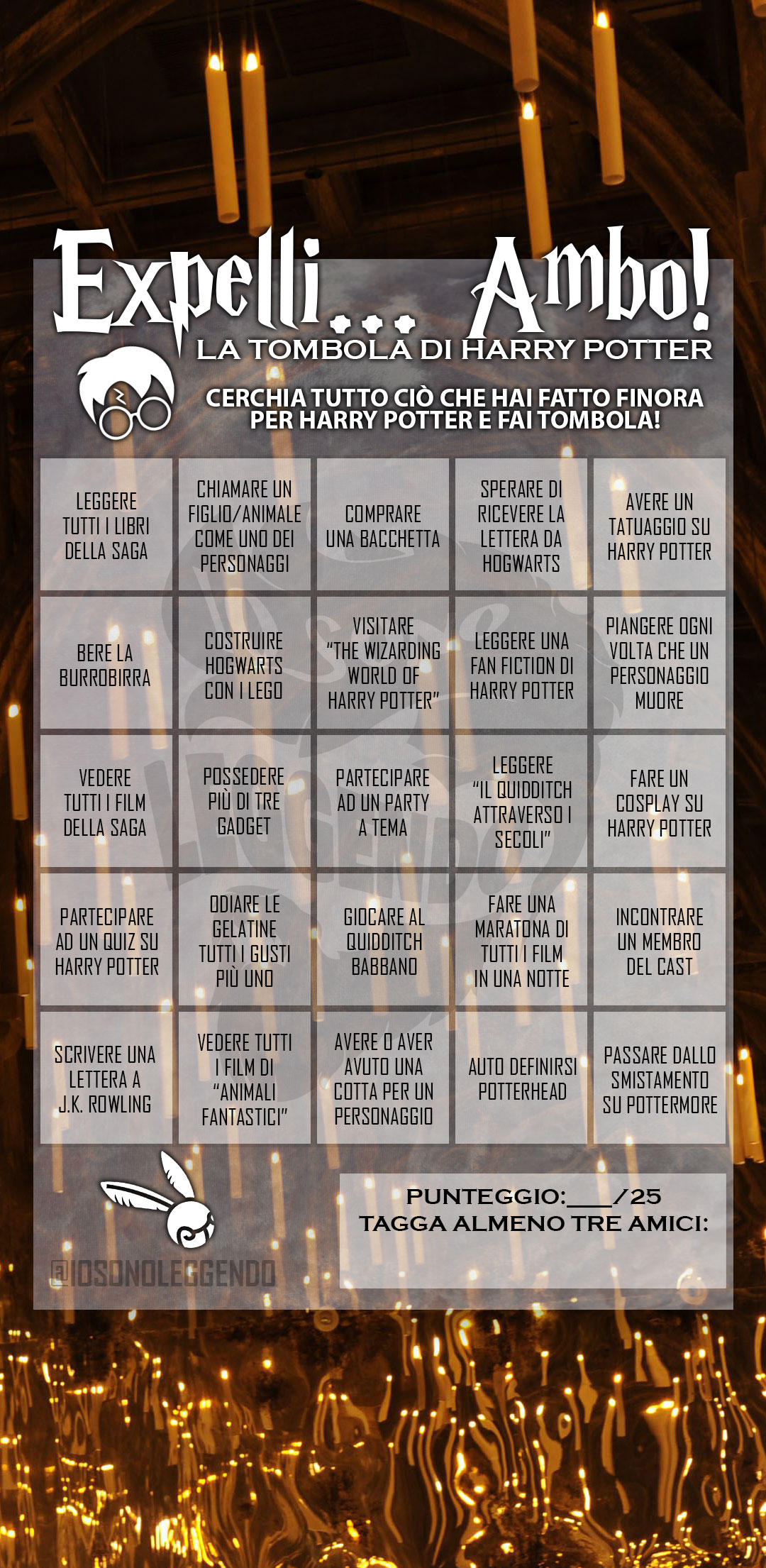 Tombola di Harry Potter